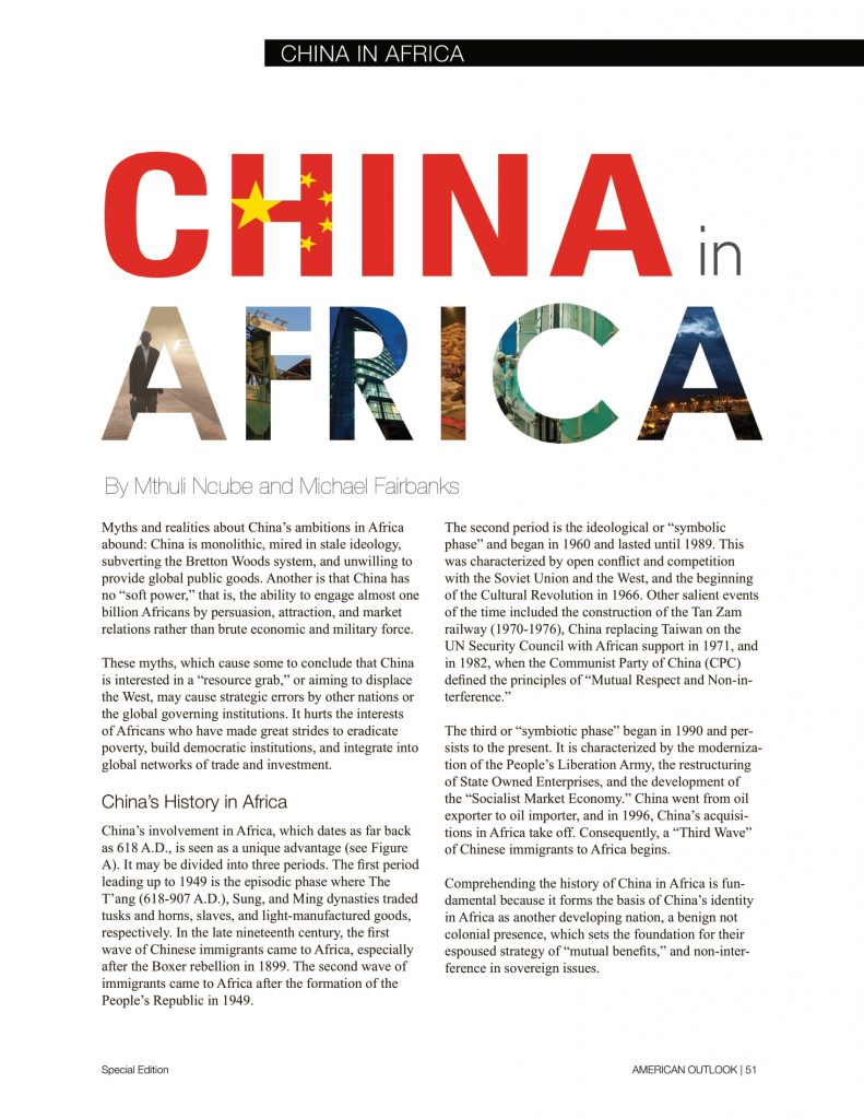 China in Africa articles from American Outlook Africa Rising Edition-11