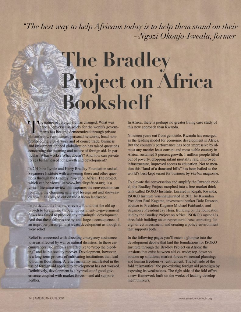 The Bradley Project-African Bookshelf + Bono ad-1
