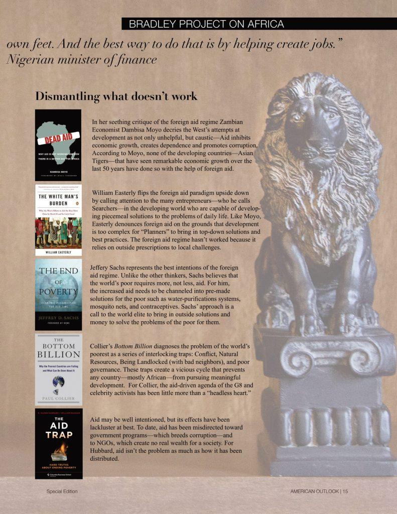 The Bradley Project-African Bookshelf + Bono ad-2