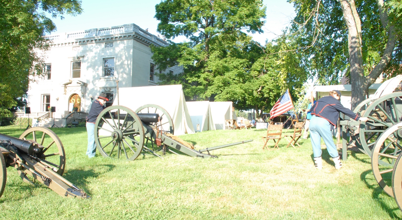 ICOC 2017 participants experienced historical reenactments of the Civil War era and heard experts speak about our state's centennial heroes.